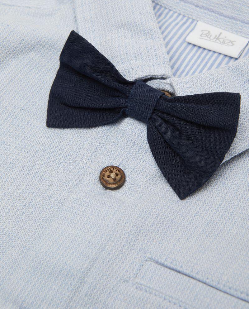 Camicia elegante neonato in puro cotone biologico single tile 1