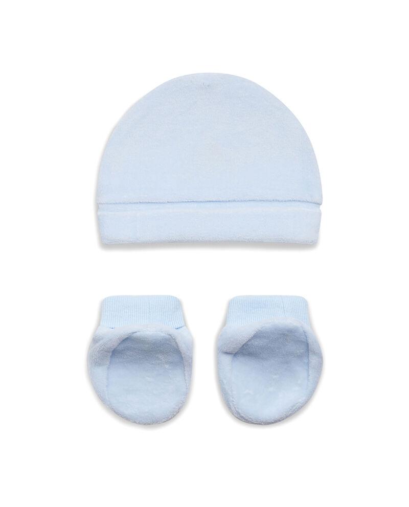 Completo cappellino e scarpine stretch