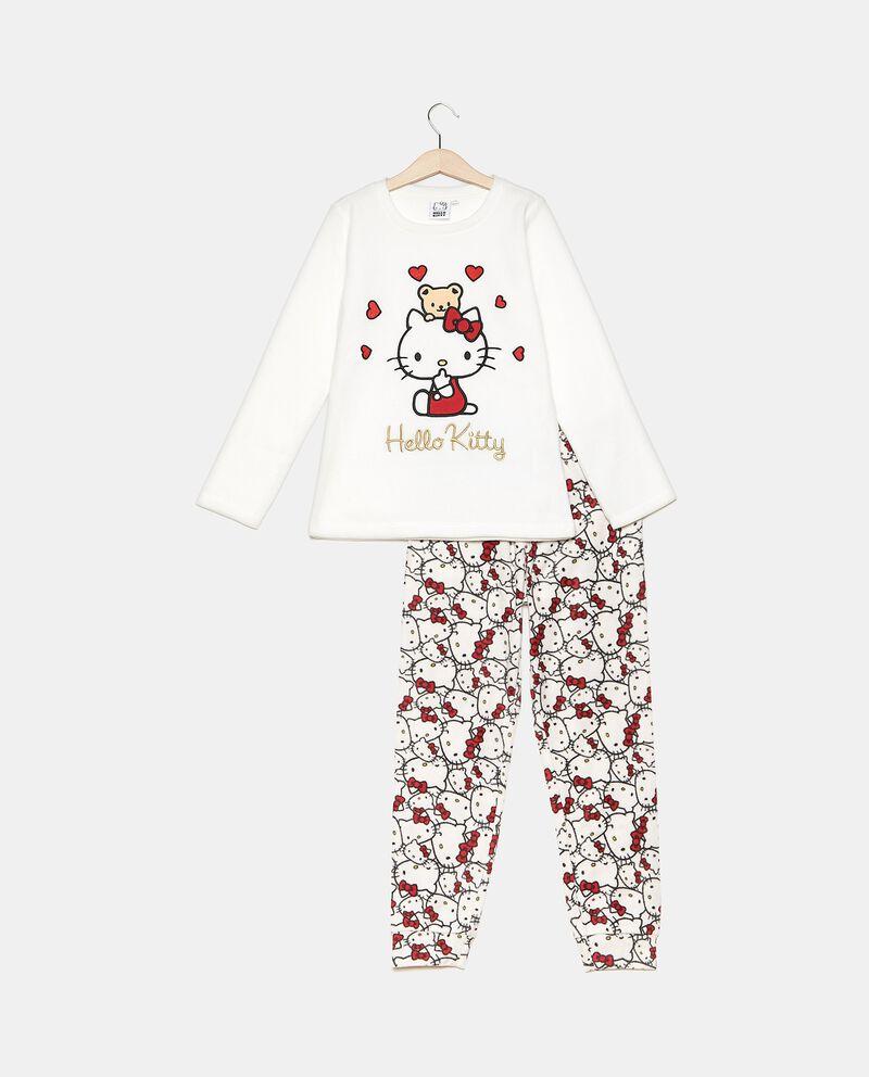 Set pigiama maglia e pantaloni in fantasia