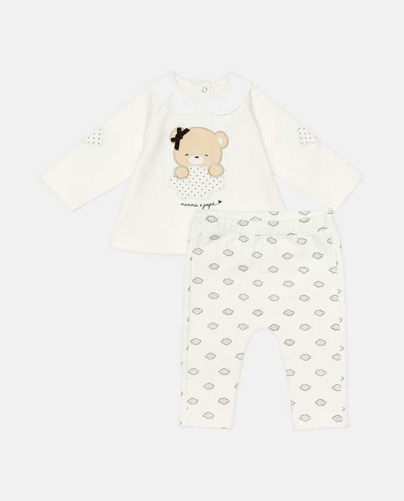 Completino con maglia e pantaloni neonata