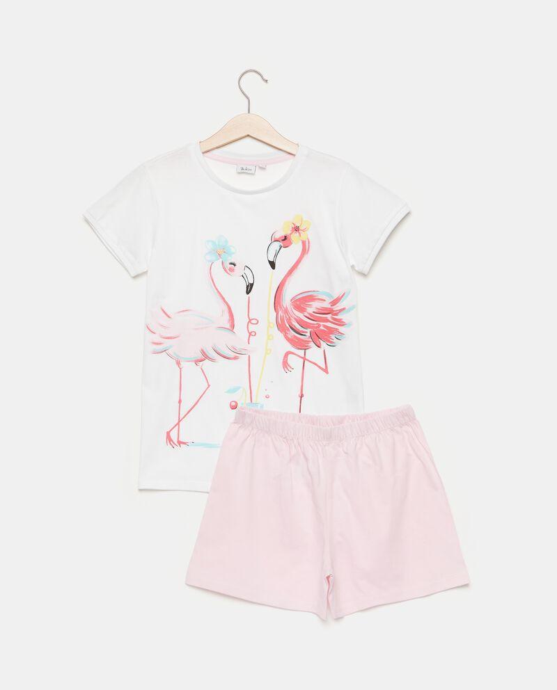 Set pigiama puro cotone t-shirt e shorts
