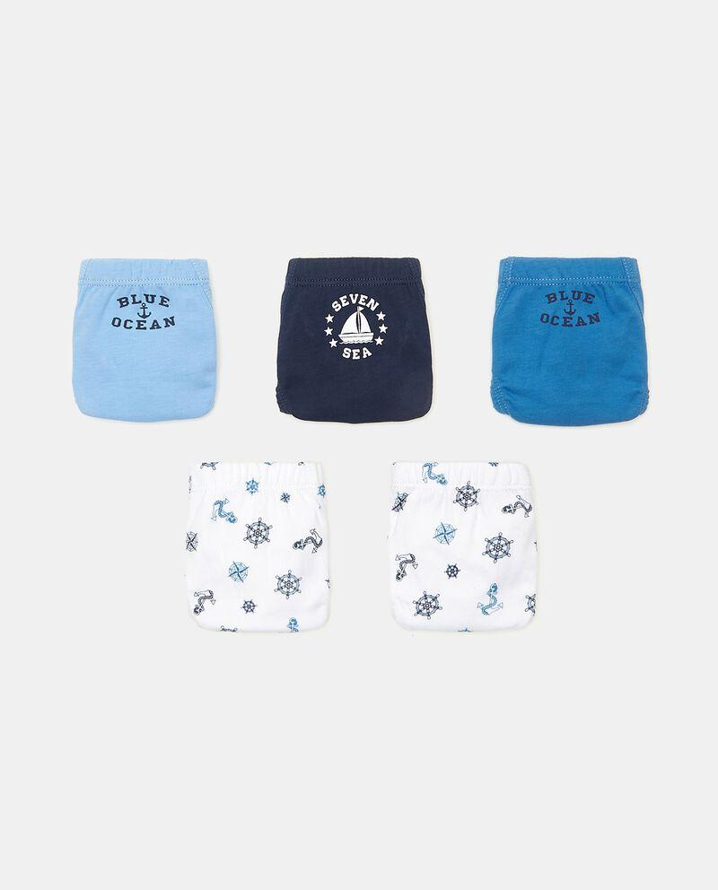 Set con 5 slip in puro cotone bambino cover