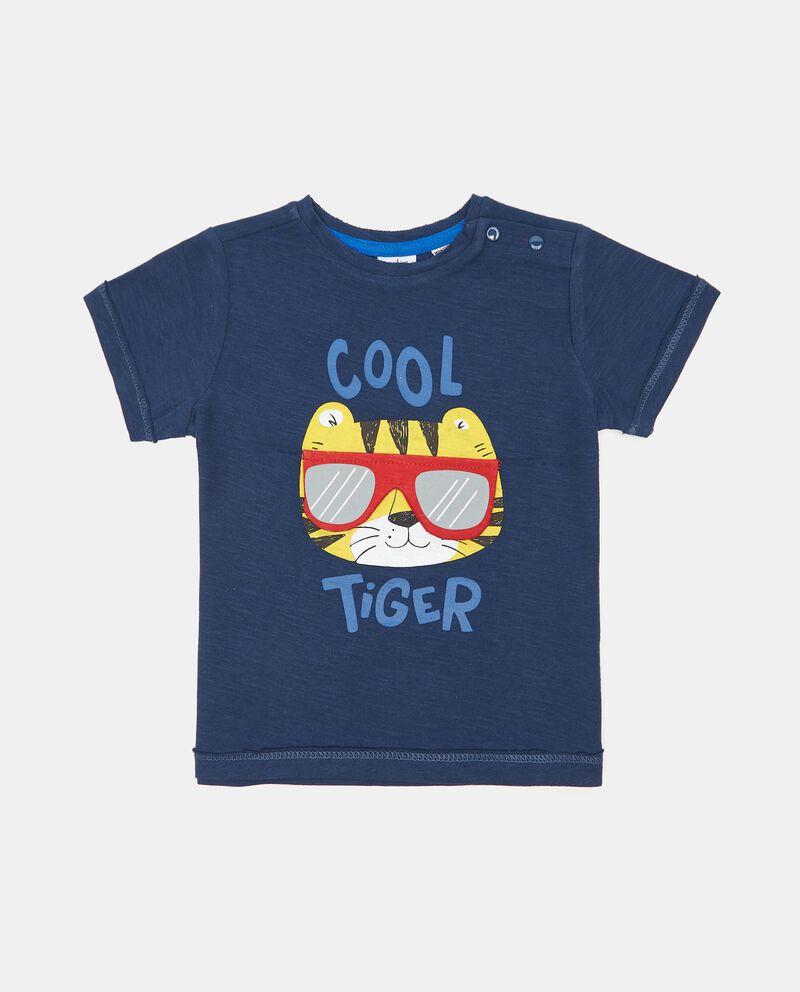 T-shirt in slub cotone organico neonato cover