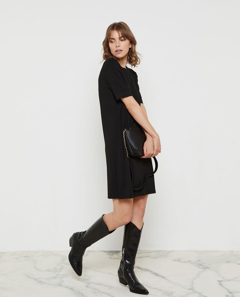 Vestito corto a tunica donna