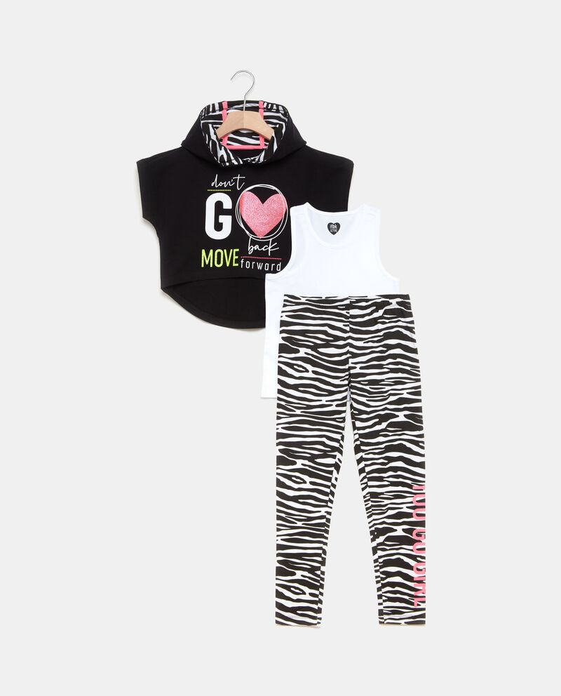 Set jogging animalier