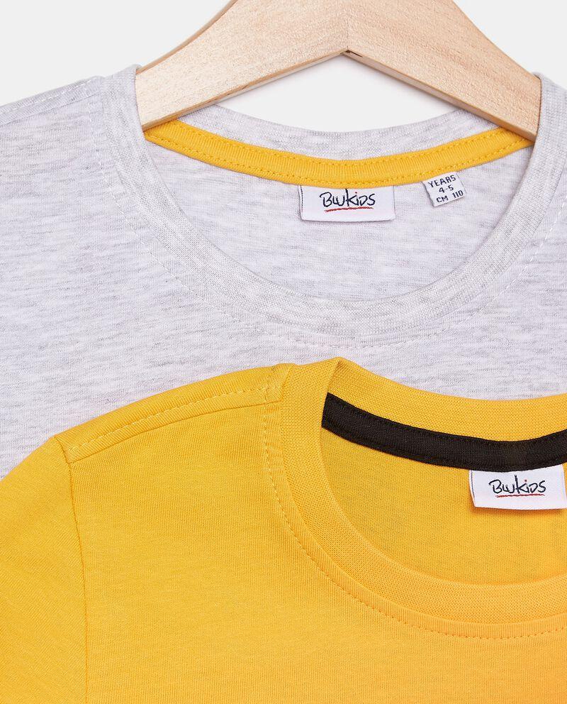 Bipack con maglie stampate bambino
