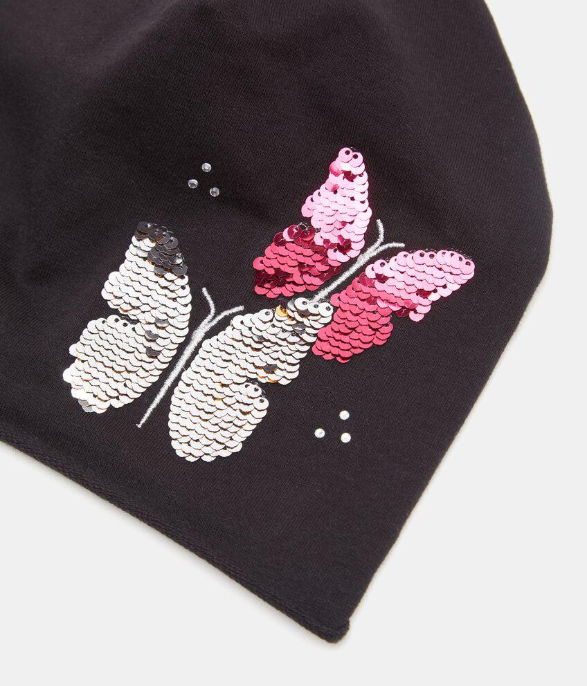 Cappello con farfalle