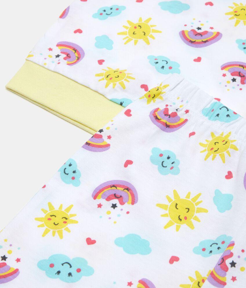 Set pigiama in puro cotone neonata