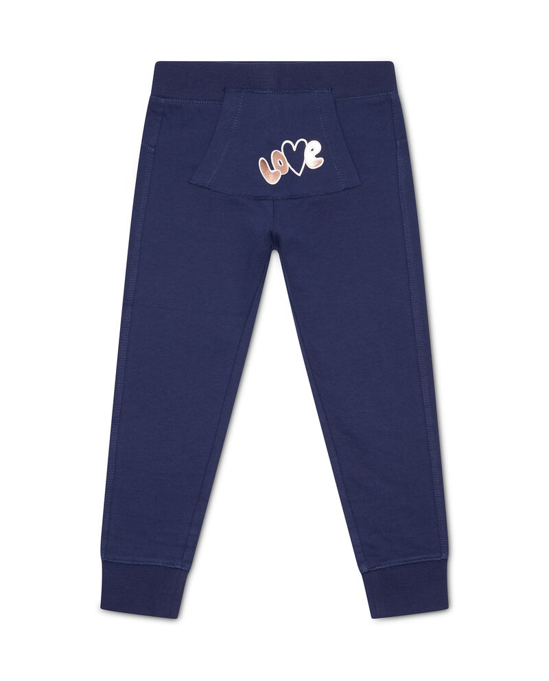 Pantaloni con tasca marsupio