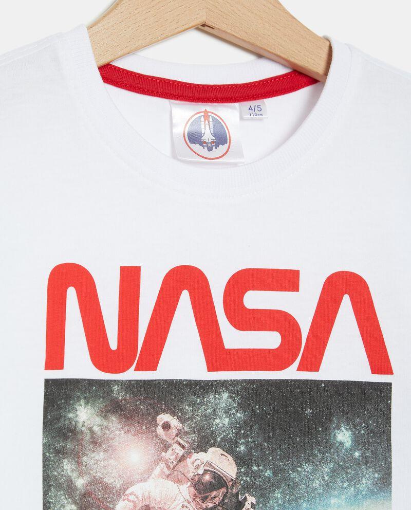 T-shirt stampa Nasa in cotone organico bambino single tile 1
