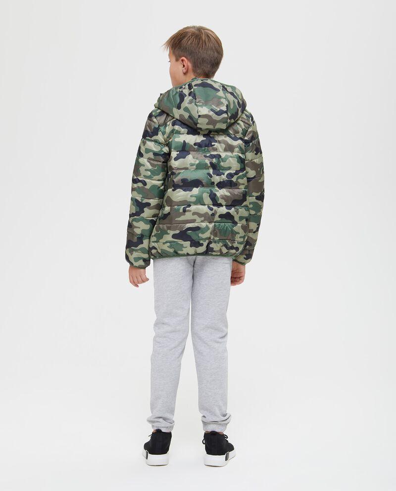 Giubbino imbottito camouflage