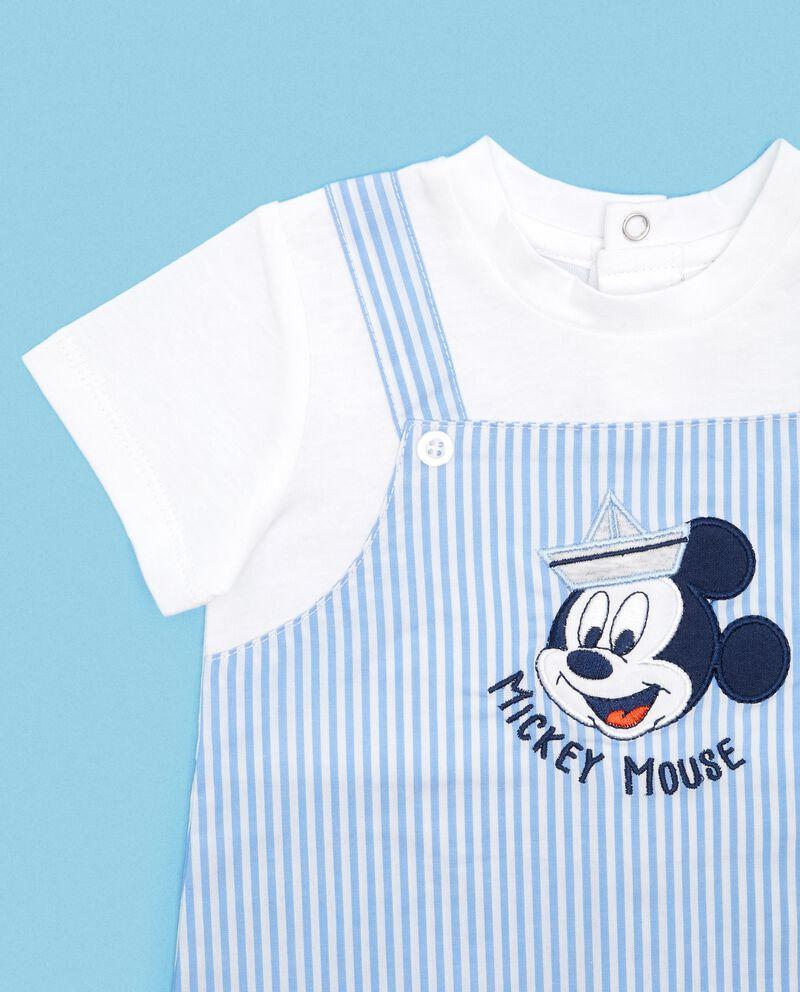 Pagliaccetto estivo in puro cotone Mickey Mouse