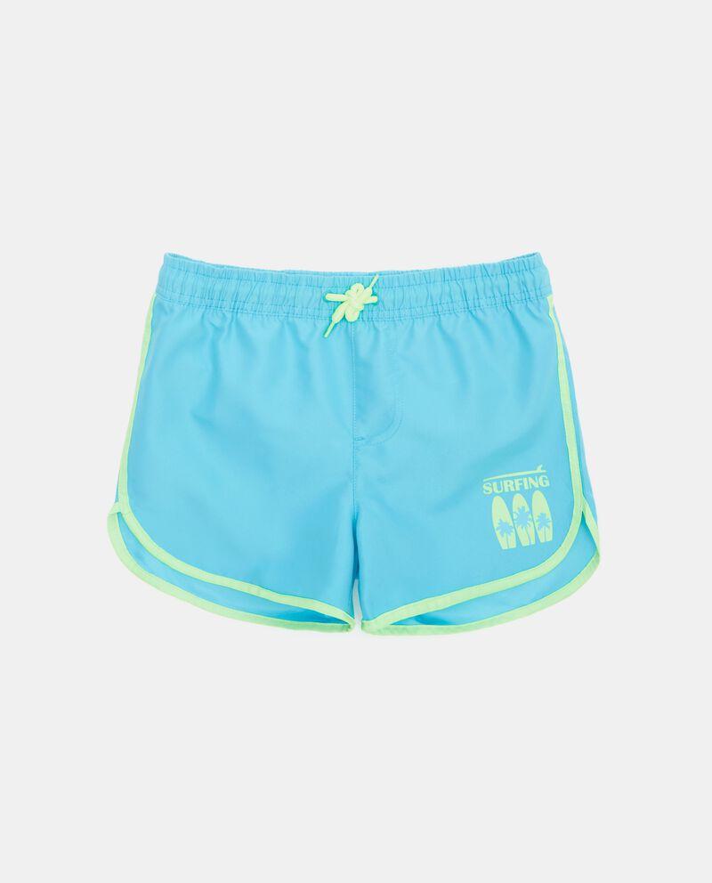Shorts mare con cordoncino e fascia elastica ragazzo