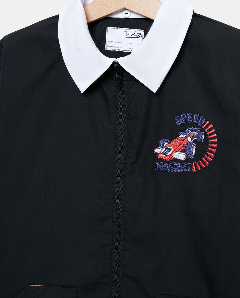 Giacca uniforme con patch macchina