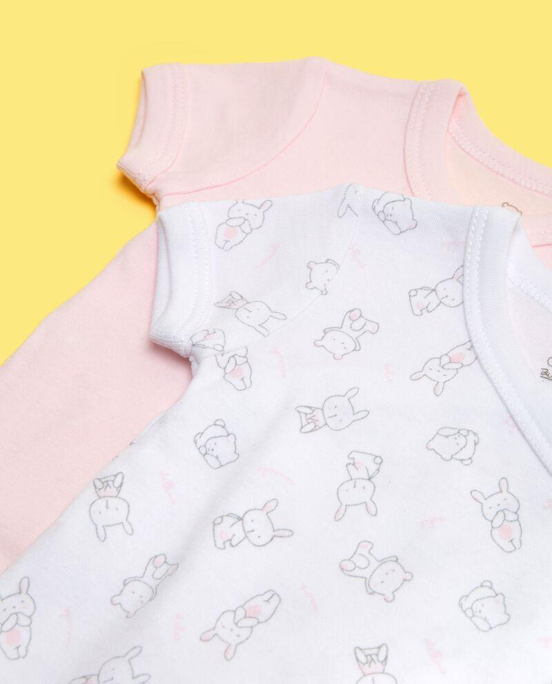 Bipack body puro cotone neonata