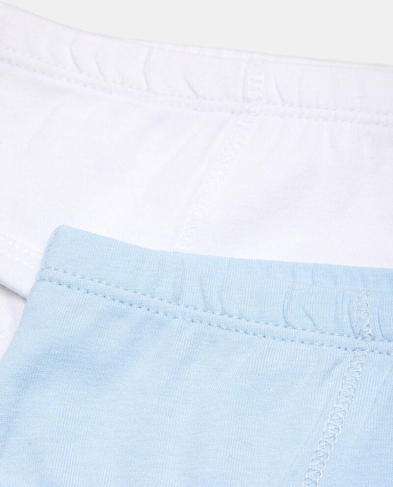 Bipack slip in puro cotone neonato