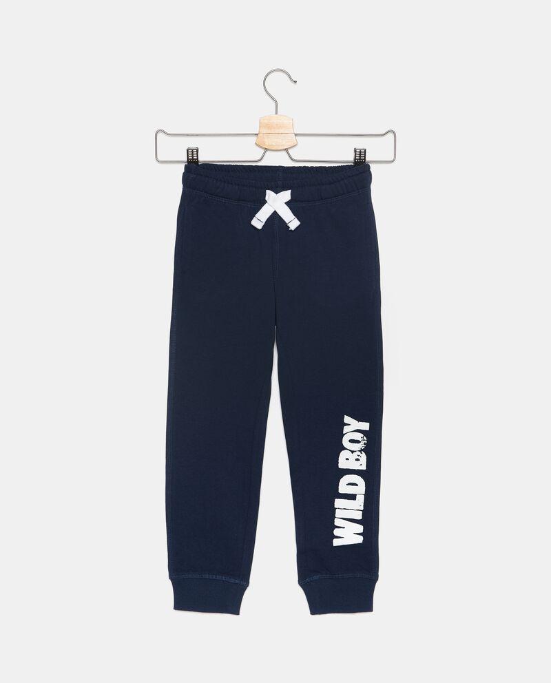 Pantaloni sportivi in puro cotone bambino