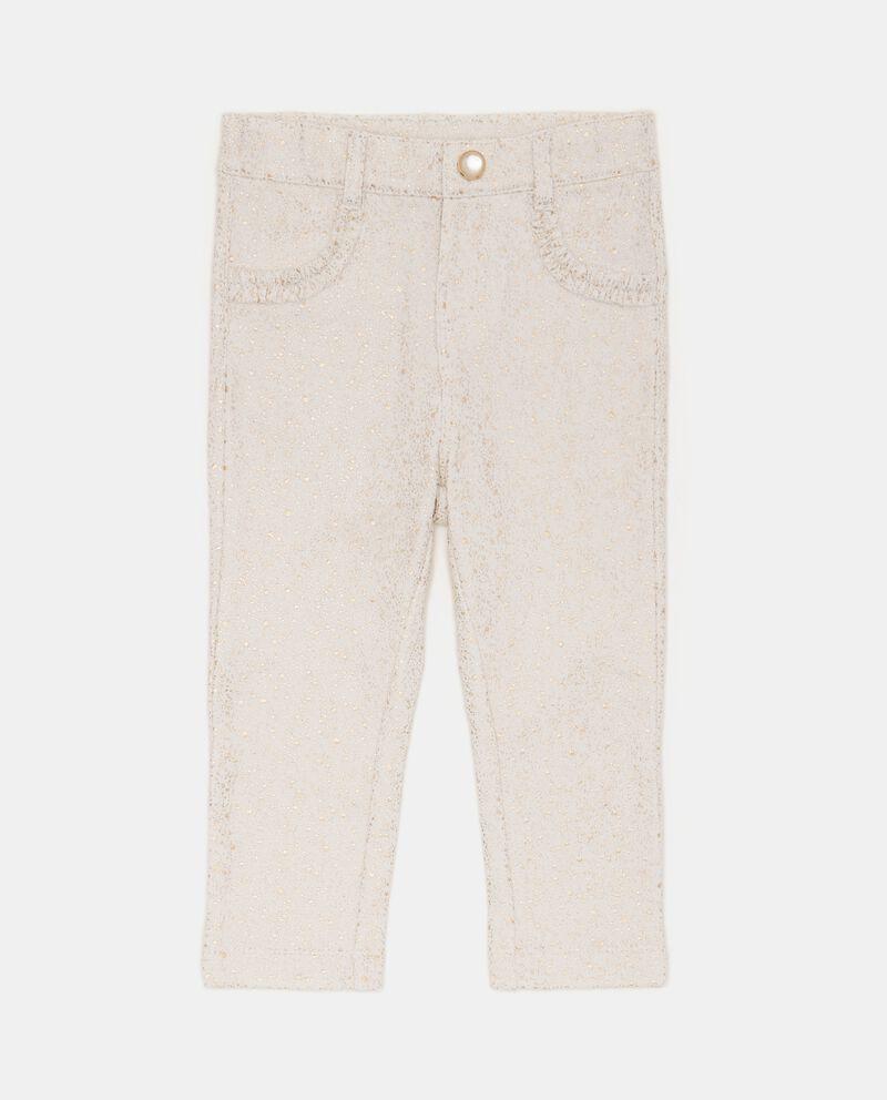 Pantaloni con glitter neonata