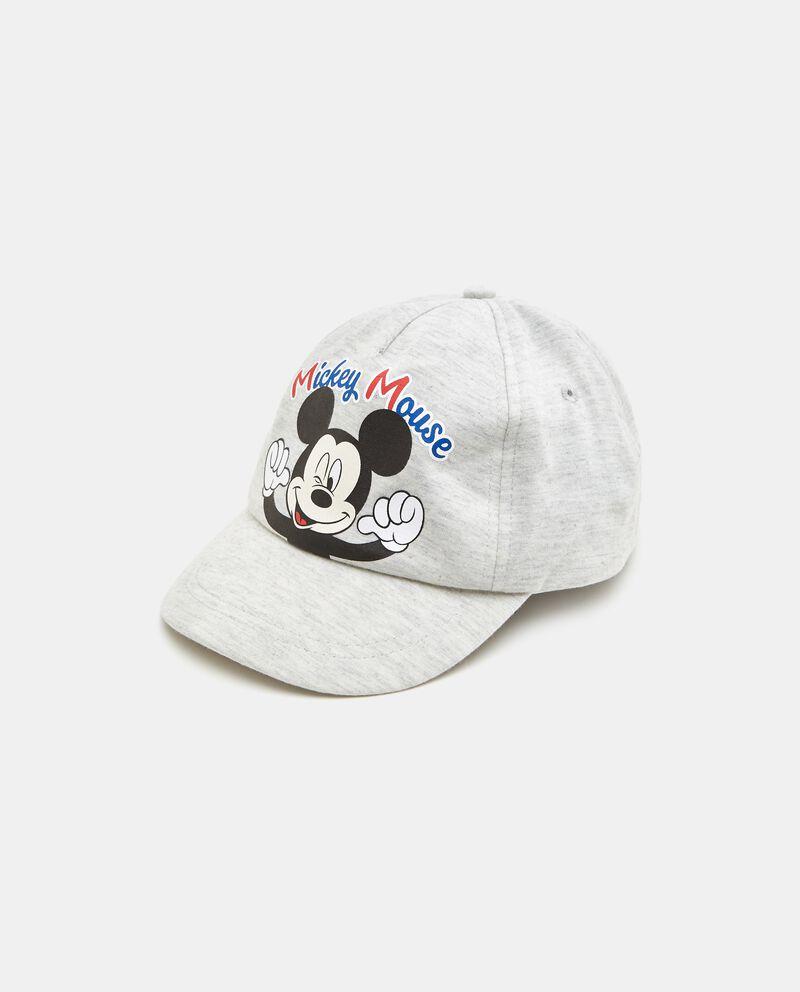 Cappellino Mickey Mouse in puro cotone neonato