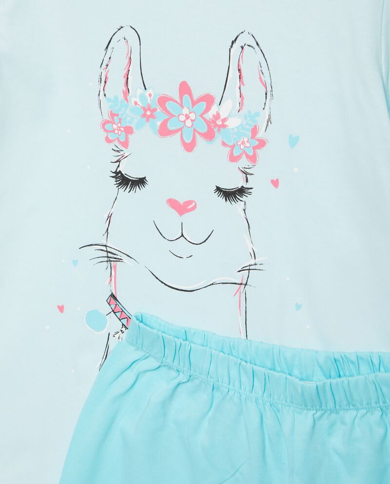 Set pigiama stampato puro cotone bambina