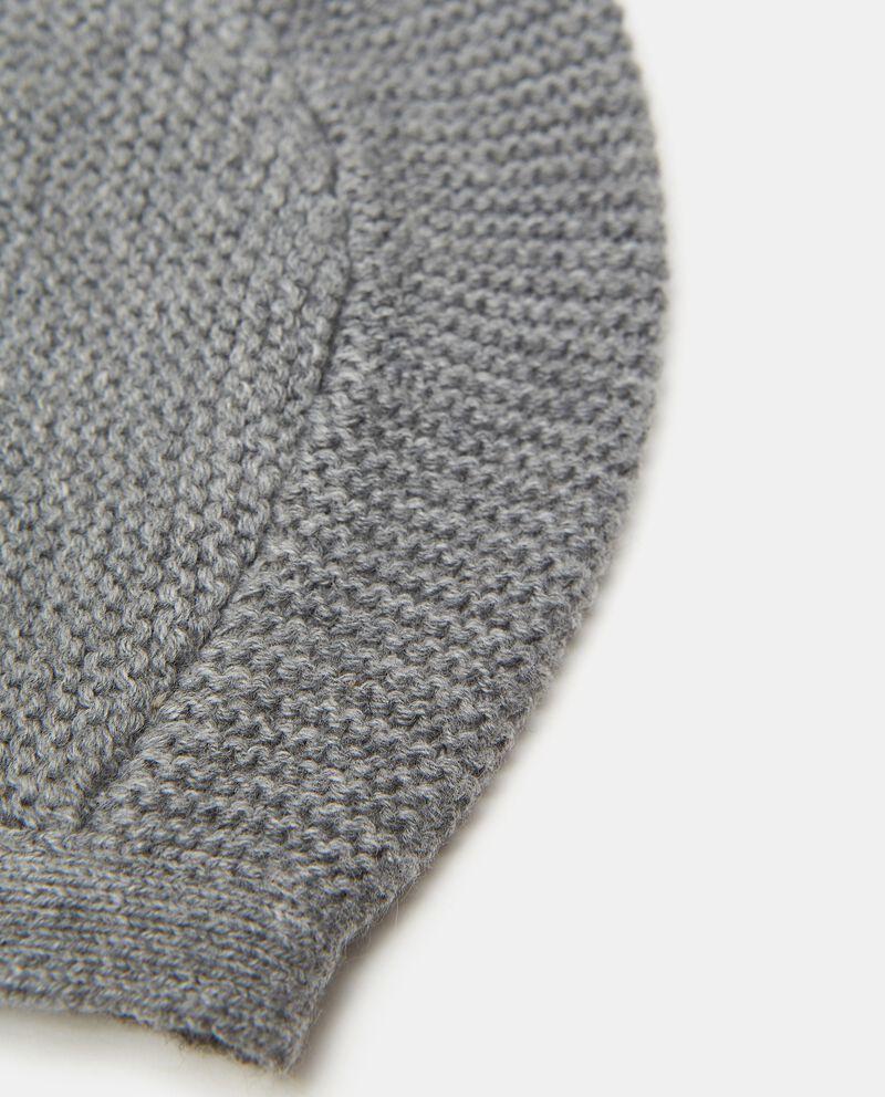 Cappellino in maglia puro cotonedouble bordered 1