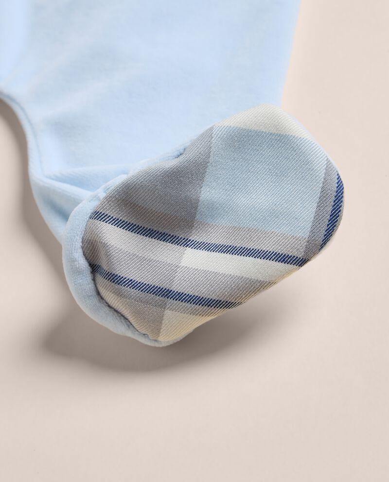 Tutina di ciniglia soft touch IANA Made in Italydouble bordered 1