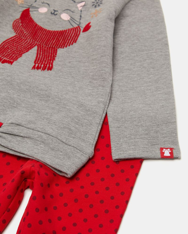 Set con maglia e pantaloni neonata