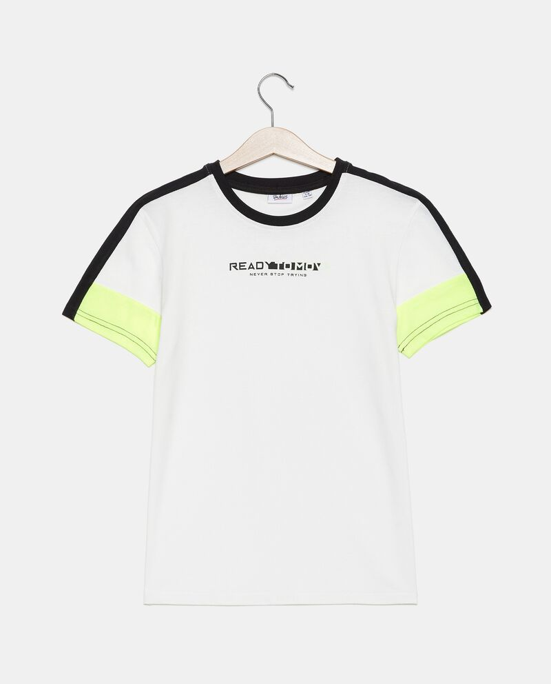 T-shirt cotone organico jersey ragazzo cover