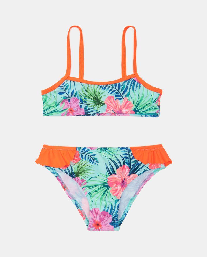 Costume bikini stampato bambinadouble bordered 0