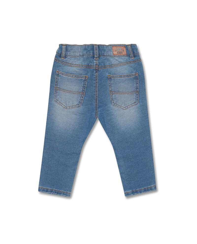 Jeans stretch delavati cinque tasche