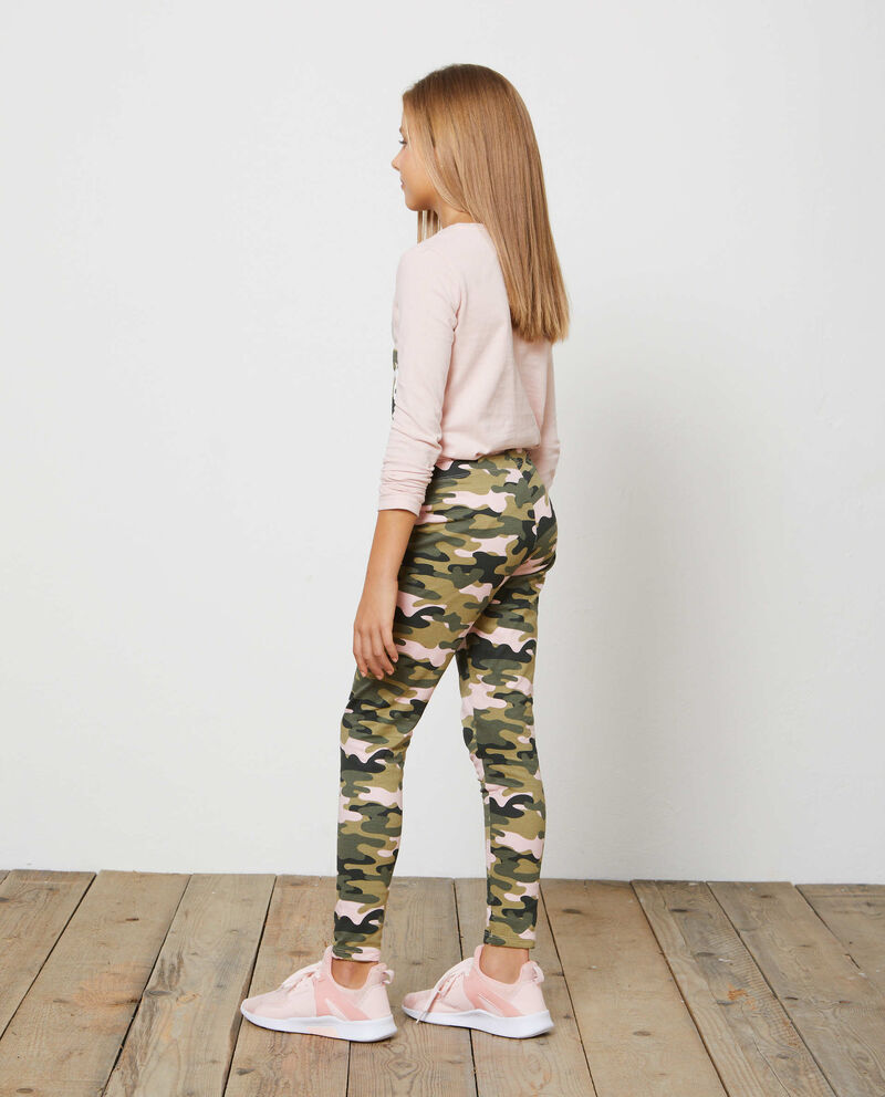Leggings stretch fantasia camouflage