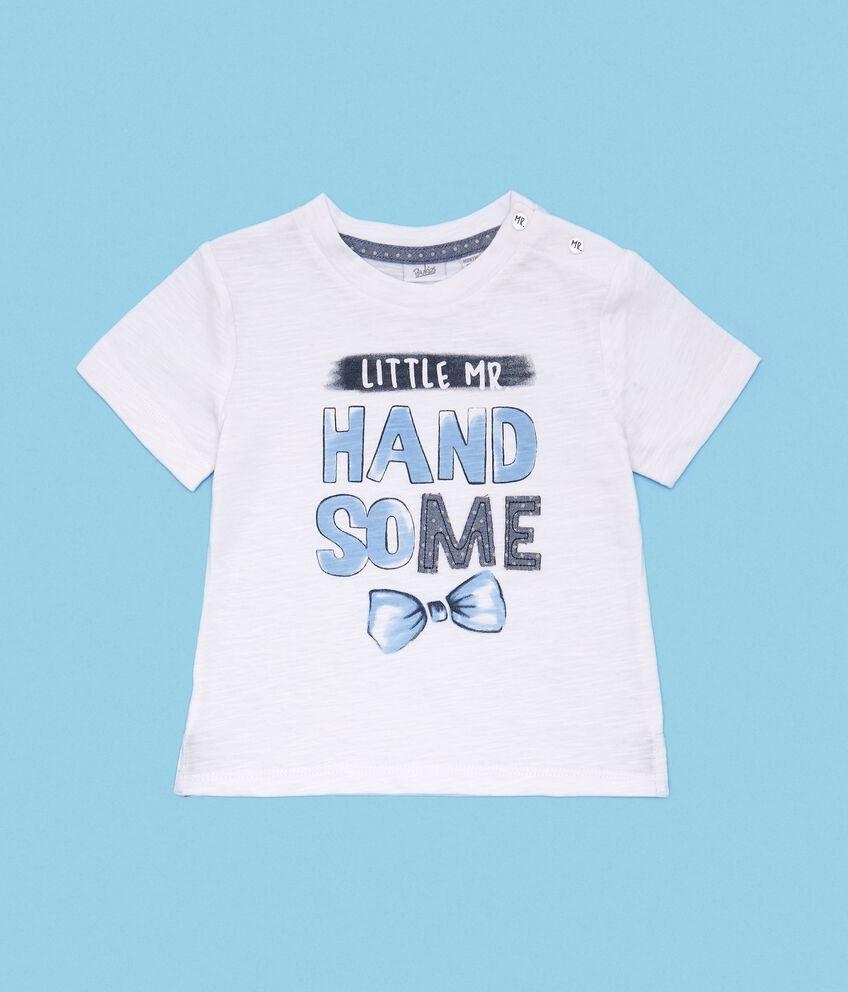 T-shirt in puro cotone neonato double 1