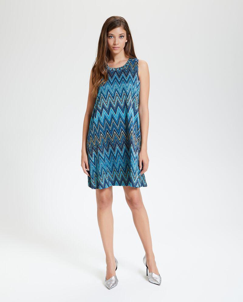 Tunica smanicata in maglia donna