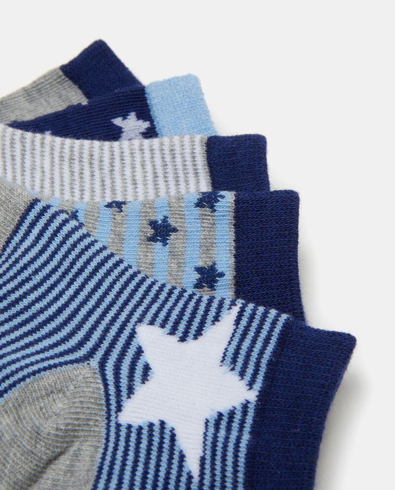 Set calzini stelle e righe neonato