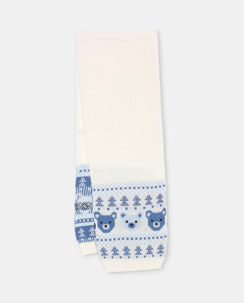 Sciarpa in maglia lavorata neonato cover