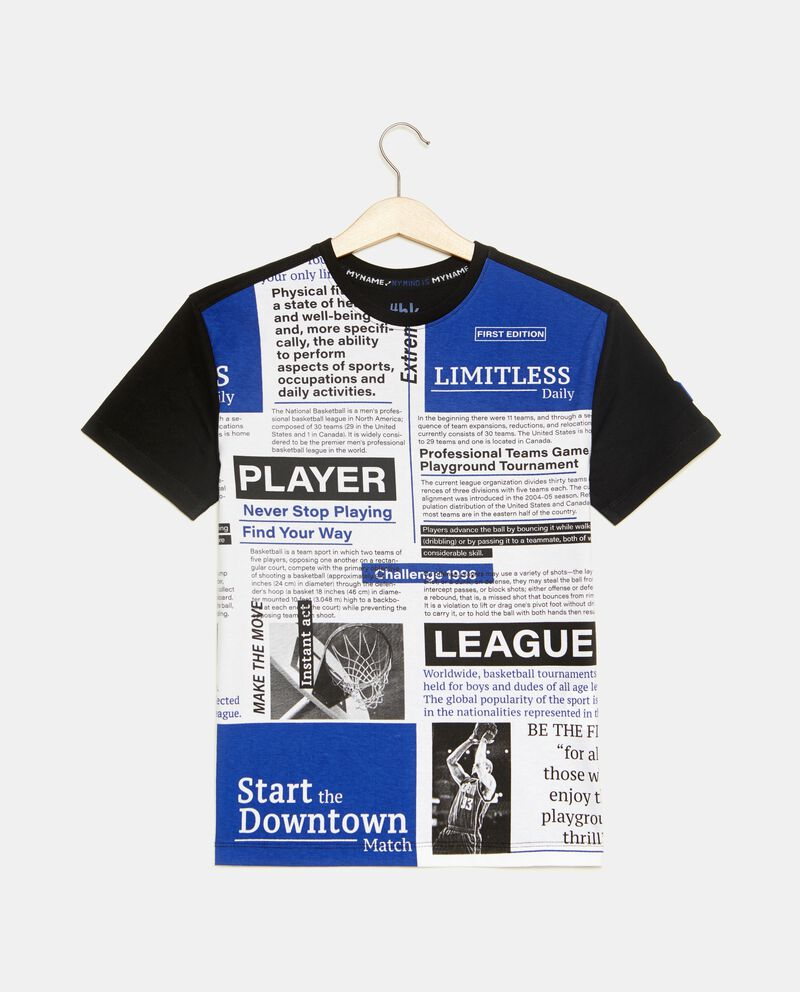 T-shirt fantasia giornale ragazzo
