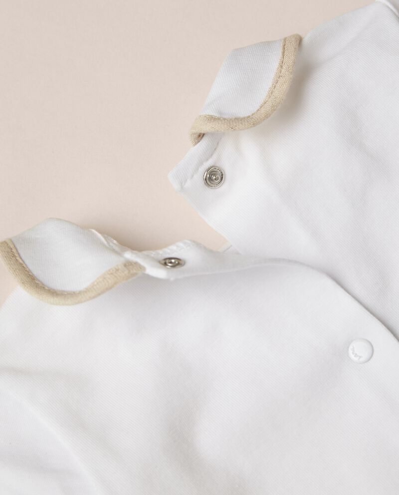 Tutina in jersey di cotone organico stretch MADE IN ITALY single tile 1