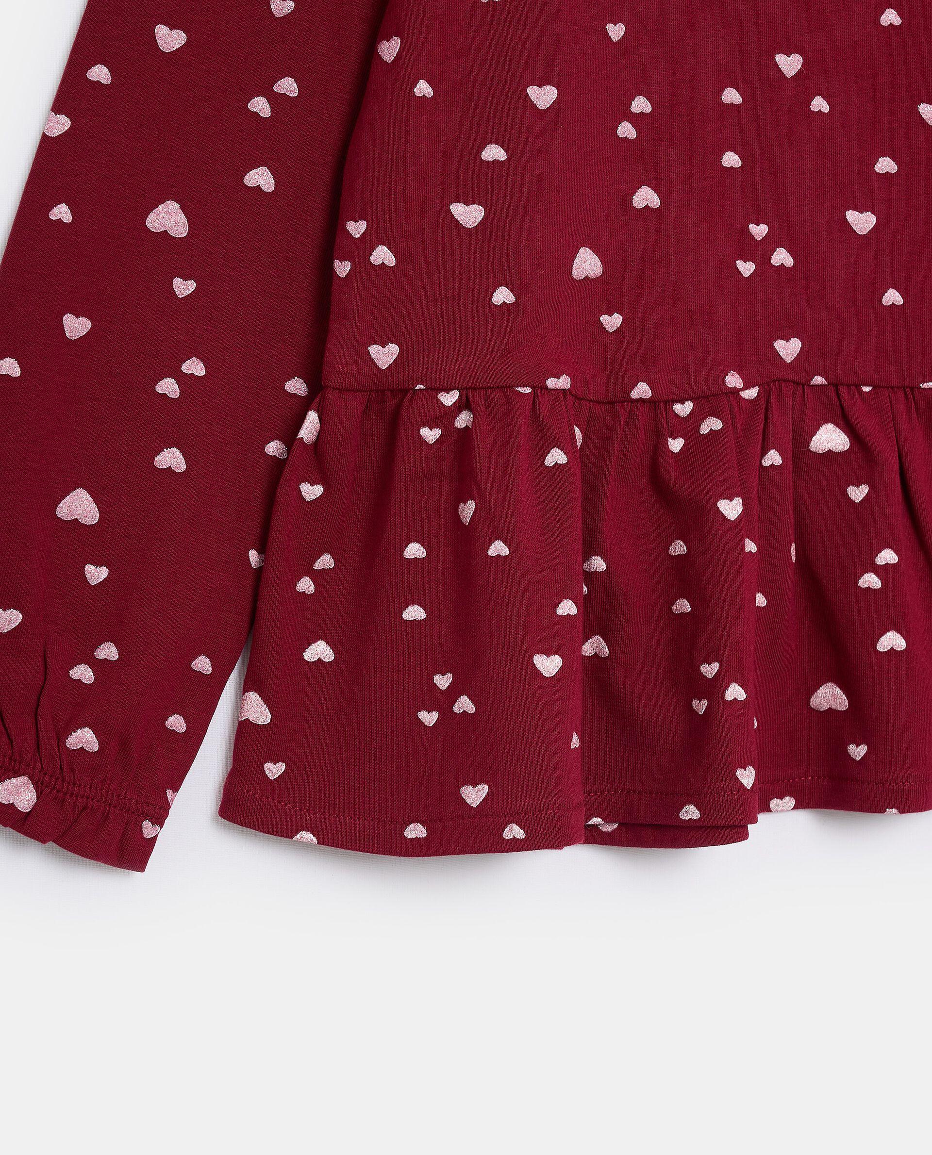 T-shirt in jersey stretch di cotone organico bambina