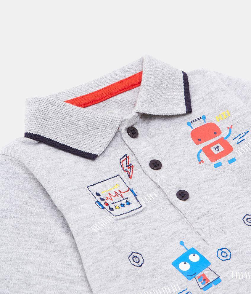 Camicia body con stampe neonato double 2