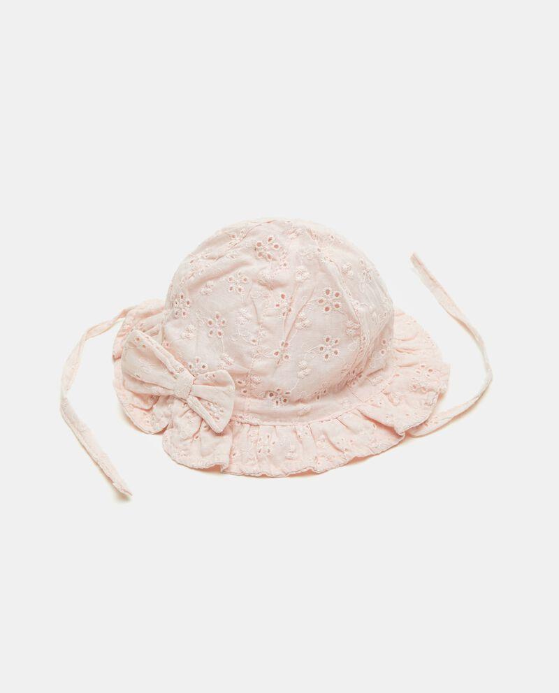 Cappellino sangallo in puro cotone