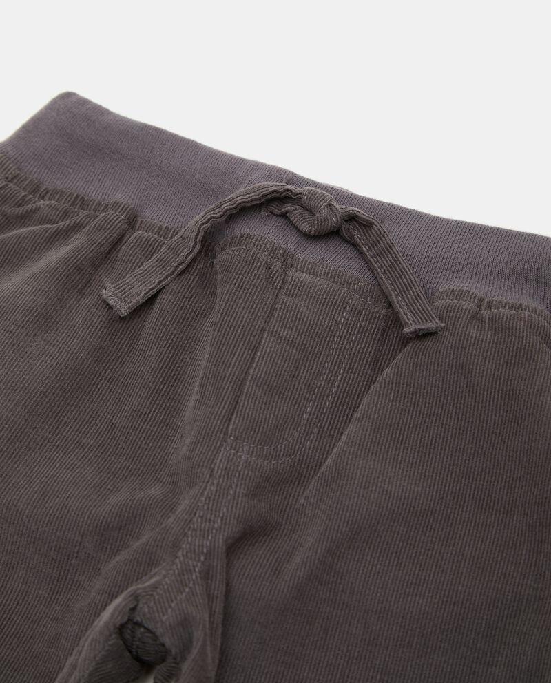 Pantaloni in velluto a costine neonato single tile 1