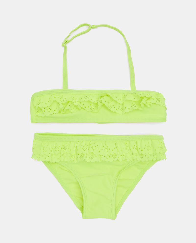 Costume bikini con ricami bambina