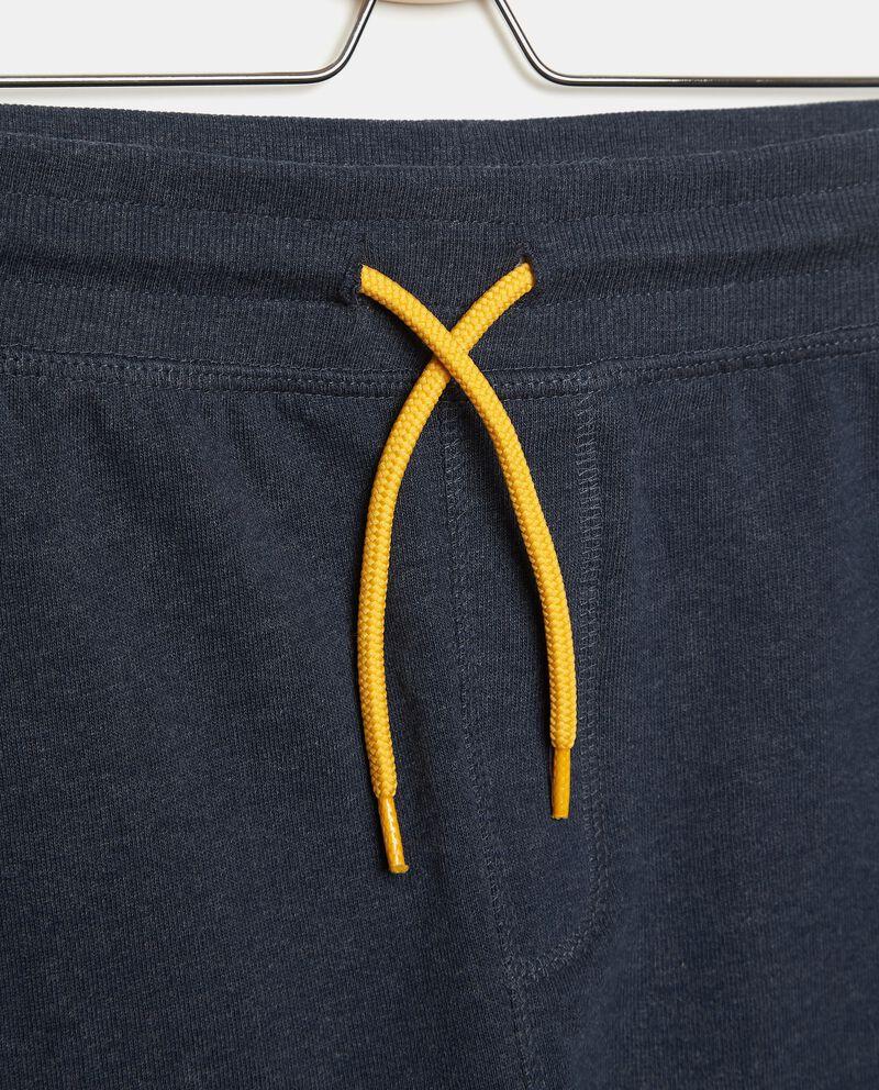 Pantaloni ad effetto mélange ragazzo