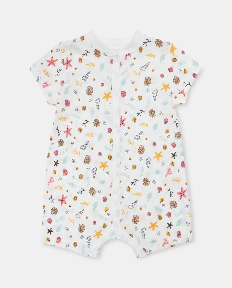 Tutina in jersey cotone organico neonata
