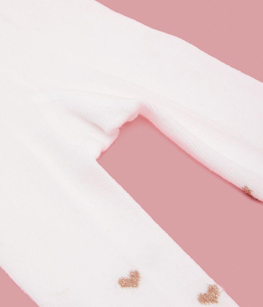 Calze con cuoricini neonata