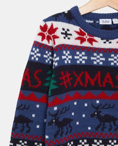 Maglione con fantasie natalizie bambino