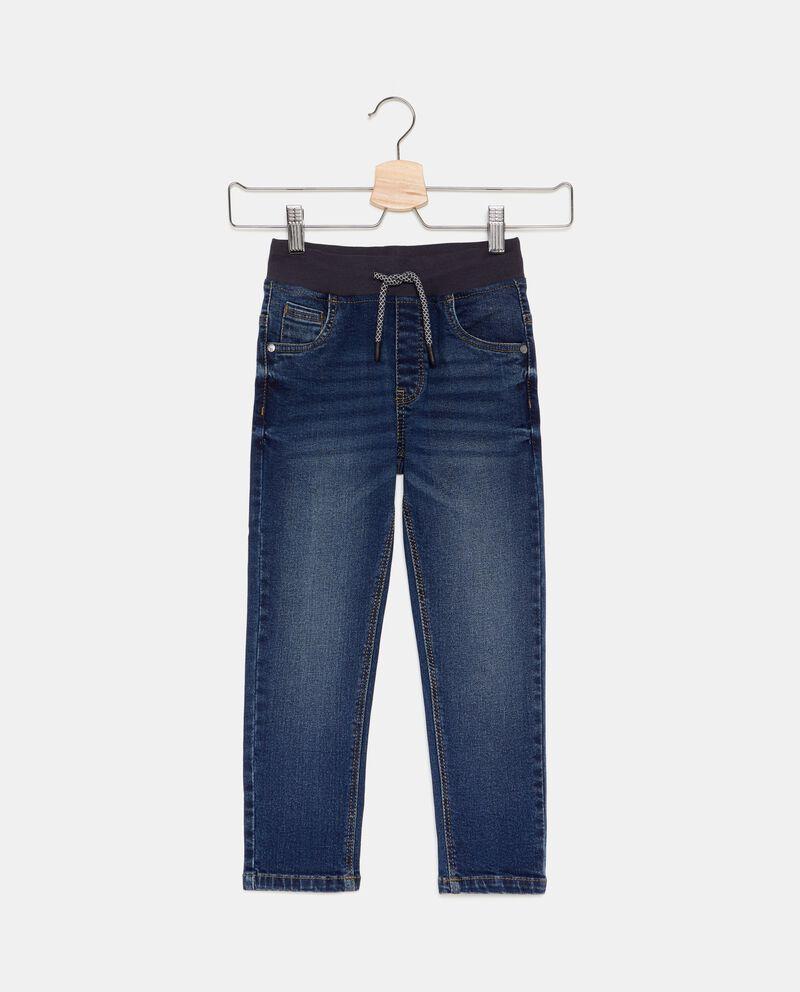 Jeans cordoncino in vita