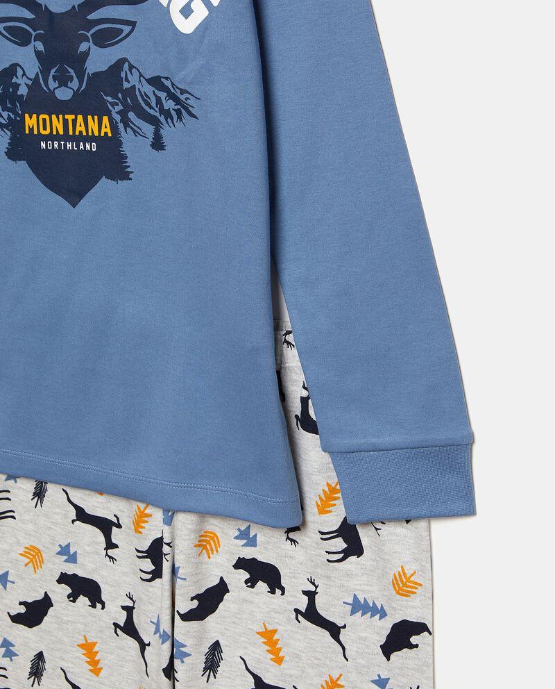 Set pigiama con maglia e pantaloni in fantasiadouble bordered 1