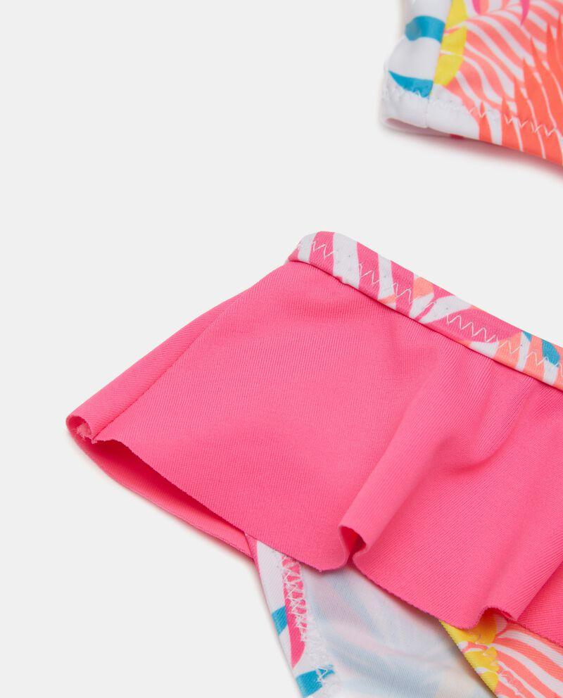 Costume bikini con balza bambina single tile 1