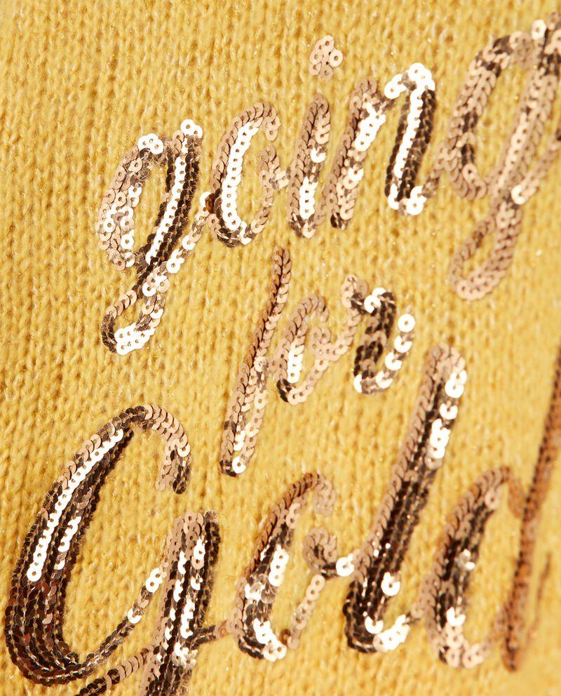 Maglione con lettering ragazza